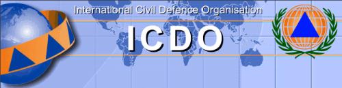 logo defesa civil internacional